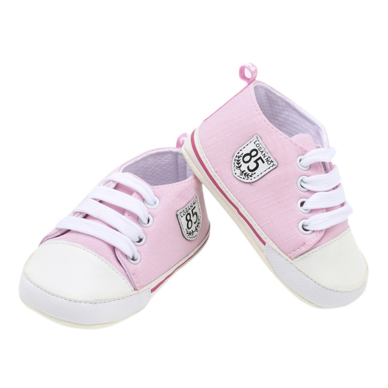 Infant Toddler Baby Shoes Boy Girl Soft Sole Crib Shoes Anti-slip Sneaker Canvas Sport Shoes 0-24M Newborn Lovely Gifts