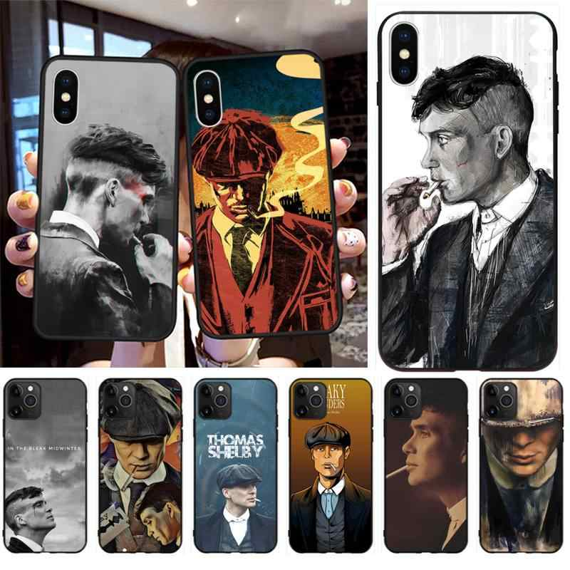 Peaky Blinders Thomas Shelby Coque Shell Phone Case for iPhone 11 pro XS MAX 8 7 6 6S Plus X 5S SE 2020 XR case