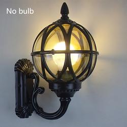 E27 oświetlenie ścienne kinkiety korytarz lampy na zewnątrz wodoodporne aluminium ze stopu europejski styl ulicy klasyczna ściana lampa ogrodzenia światło werandy w Zewnętrzne lampy ścienne od Lampy i oświetlenie na