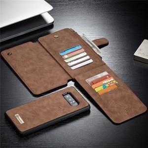 Image 4 - Cassa del Cuoio genuino per Samsung S20 Ultra S10 S9 S8 Nota 20 10 Più Del Raccoglitore Della Copertura per il iPhone SE 2020 11 Pro XS Max XR X 7 8 Caso
