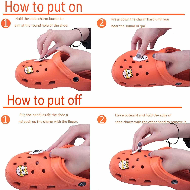 10 Cái/lốc Dễ Thương Y Tế PVC Croc Giày Hạt Trang Trí Phụ Kiện Hoa Quả Thực Phẩm Tinh Thể Động Vật Kỳ Lân JIBZ Cho Croc Trẻ Em Quà Tặng