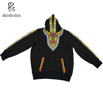African hoodies for couples dashiki clothes african men hoodies sweater autumn winter warm cotton sweater african clothes
