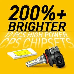 AUXITO 2x H8 H11 Led H10 H16 JP Fog Lights Bulb CSP 2000LM 3000K 6000K White Car Driving Running Lamp Auto Leds Light 12V 24V