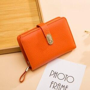 Image 1 - Hakiki deri tasarımcı cüzdan kadın cüzdan moda para çantası cep telefonu cep bayanlar lüks uzun çanta 6915