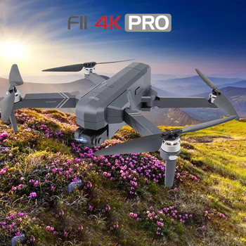 NEW F11 PRO 4K GPS Drone With Wifi FPV 4K HD Camera 2-axis Anti-Shake Gimbal F11S Brushless Quadcopter gift Dron 1