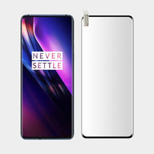 3D Full GLUE Curved Edge Tempered Glass For one plus 8 pro Screen Prote