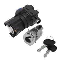 Цилиндр замка зажигания выключатель стартера с ключами и пройти чип-ключ для Chevy Classic Impala 12458191 22599340