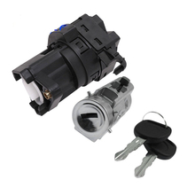 Ignition Lock Cylinder Starter Switch with Keys and Pass Chip for Chevy Classic Impala 12458191 22599340