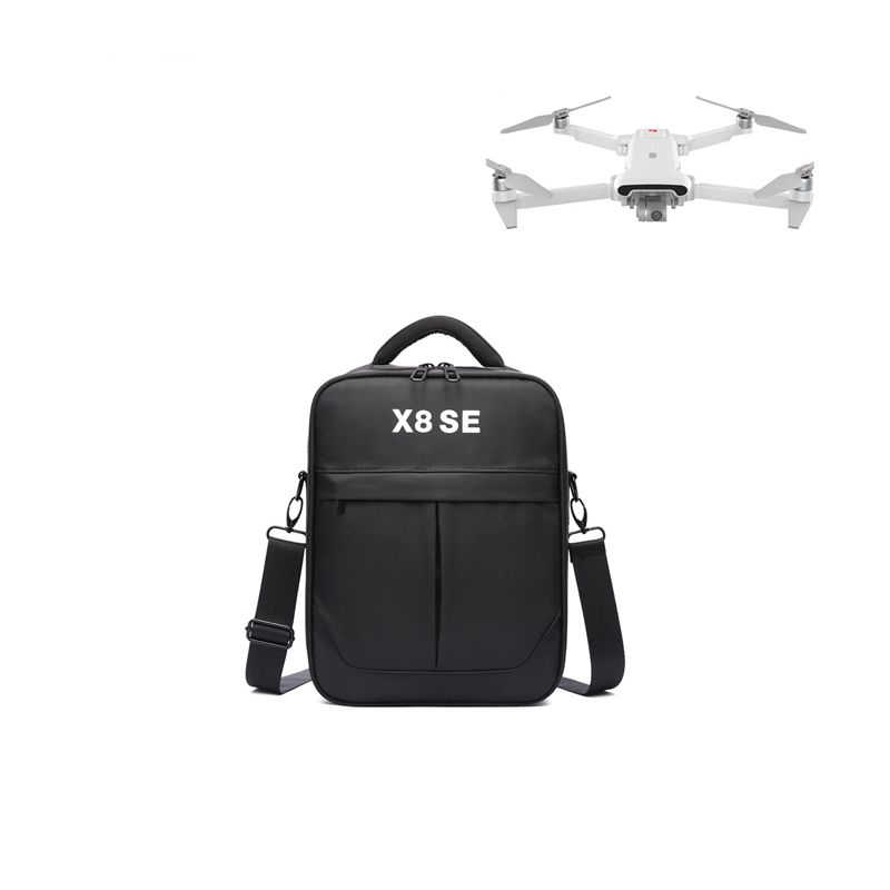 Drone Bag for FIMI X8 SE RC Quadcopter Nylon Canvas Storage Waterproof Carrying Storage Shoulder Bag Drone Accessories