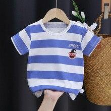 T-Shirt Baby's Toddler Girls' Summer Short Cotton Boys' Children's