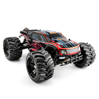 JLB Racing 1:10 4WD RC Brushless Monster Truck Off Road Vehicle Waterproof RC Car With Wheelie Function Toy For Kid RTR Version