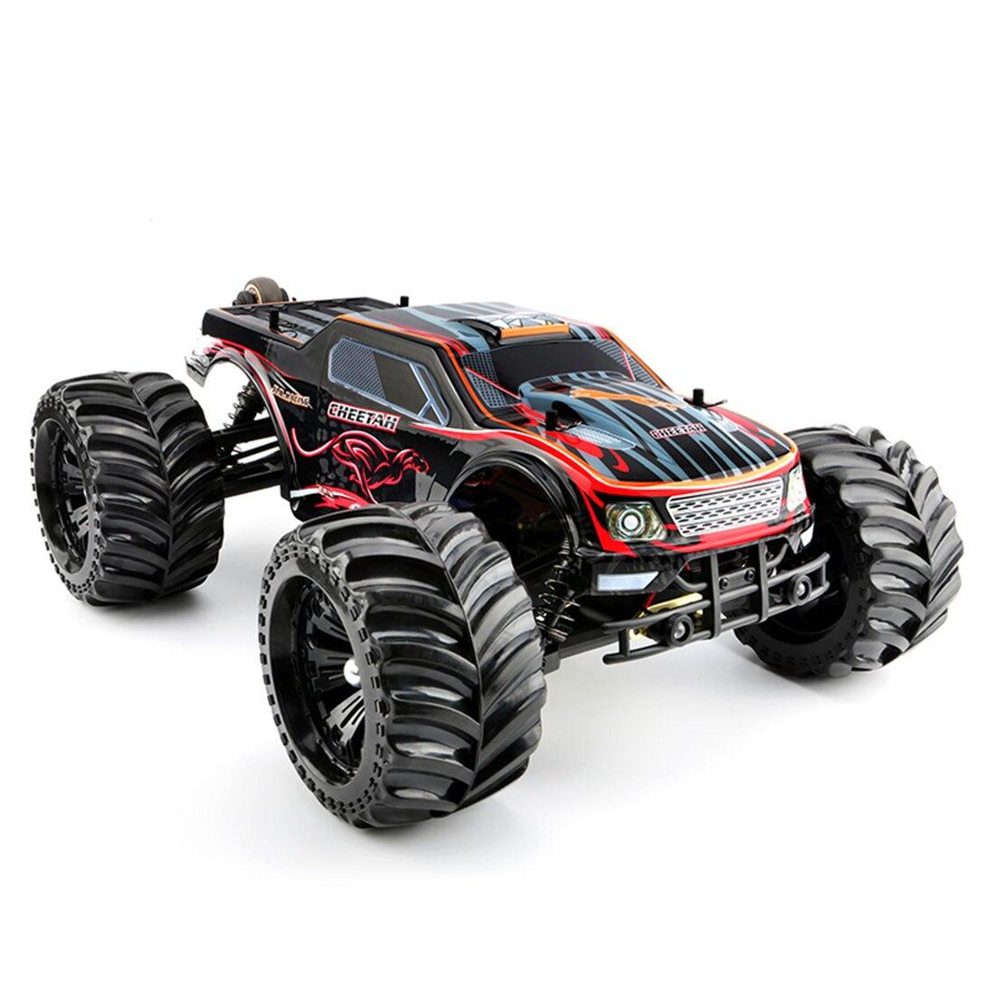Jlb Racing 1:10 4WD Rc Borstelloze Monster Truck Off Road Voertuig Waterdichte Rc Auto Met Wheelie Functie Speelgoed Voor kid Rtr Versie