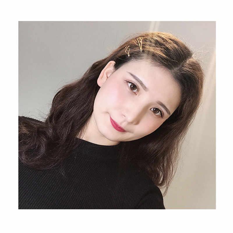 3 buah/set Mutiara Logam Rambut Klip Barrette Jepit Rambut Rambut Aksesoris Kecantikan Alat Styling Jepit Rambut Mesin Untuk Memotong Rambut Wanita