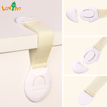 200pieces/lot Safety Plastic Children Protection Lock Cabinet Door Products Saft Tools for Cabinet Door Drawers Refrigerator