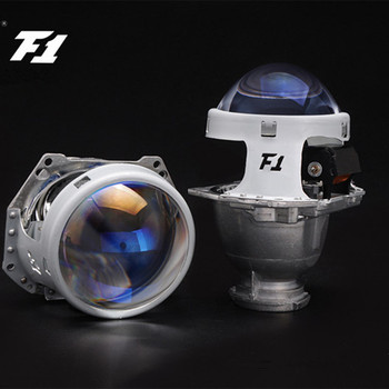 Free Shipping AES Kingkong F1 Bi-Xenon Hid Projector Lens 3.0 Inch Blue Glass Hella 5 3R Headlight Retrofit Auto Parts
