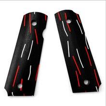 Тактические профессиональные рукоятки g10 с узором в дамасском
