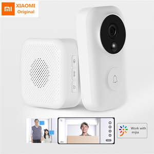 Xiaomi Doorbell-Set Ai-Face Wireless WIFI Night-Video-Motion-Detection Self-Power-Generating