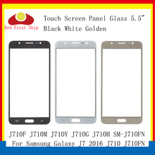 10Pcs/lot Touch Screen For Samsung Galaxy J7 2016 J710 J710FN J710F J710M J710Y Touch Panel Front Outer Lens J7 2016 LCD Glass стоимость