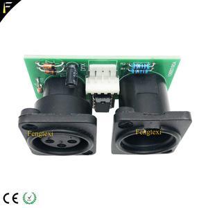 Image 4 - 2 шт. 7R/5R 200/230 DMX512 сигнал подключения платы Часть маленький PCB 3pin XLR разъем DMX с чипом Ремонт Замена платы