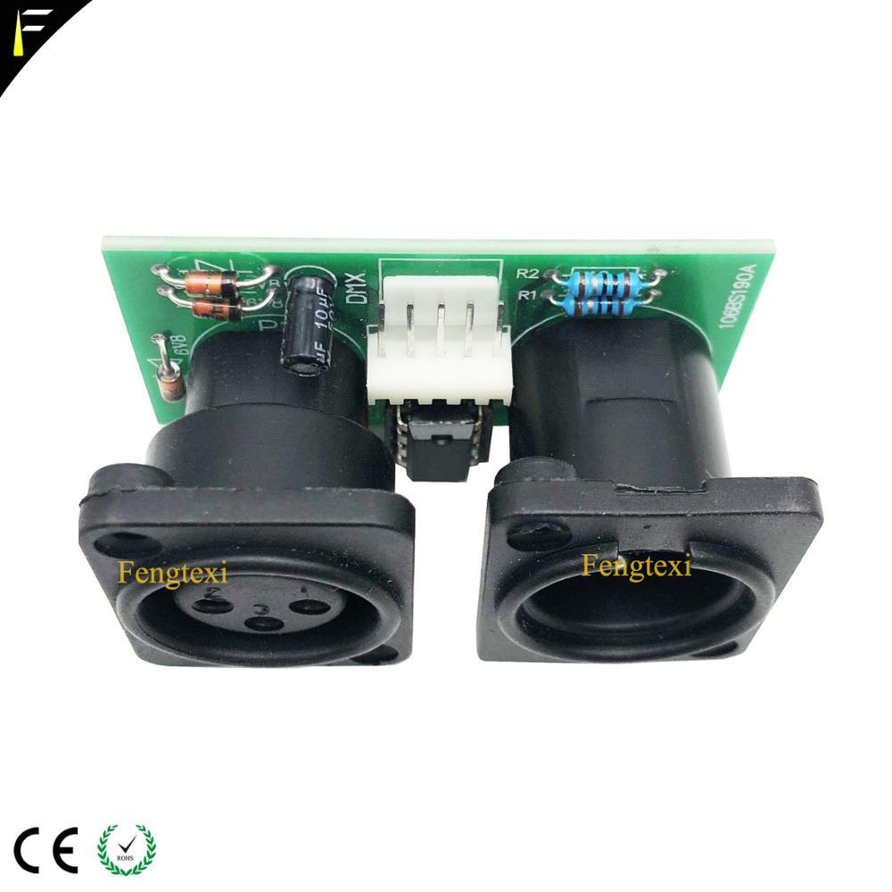 Image 3 - 2pcs 7R/5R 200/230 DMX512 신호 연결 보드 부품 작은 PCB 3pin XLR DMX 커넥터 칩 보드 수리 교체무대 조명 영향등 & 조명 -
