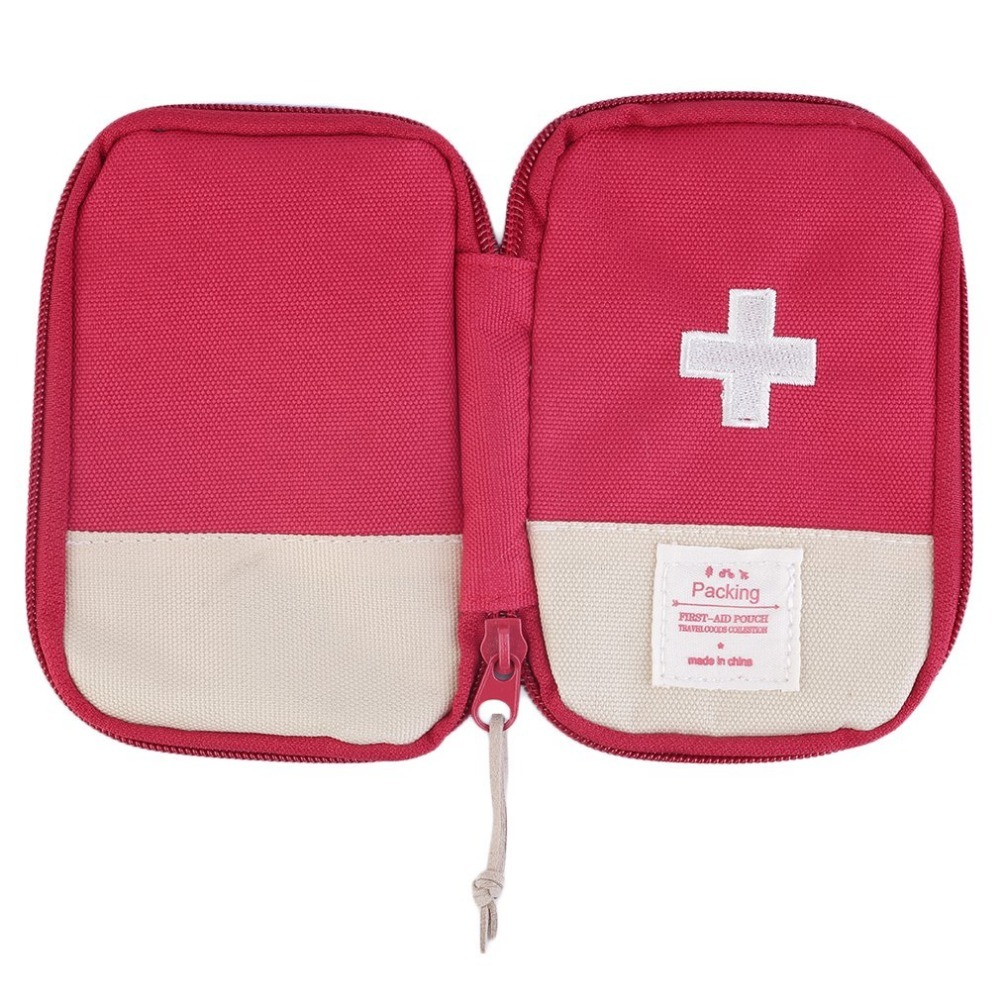 Купить с кэшбэком First Aid Kit Medical Bag Durable Outdoor Camping Home Survival Portable first aid bag bag Case Portable 3 Colors Optional