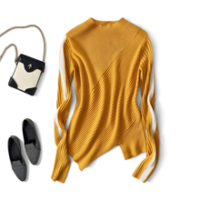 High Street Fashion 50 Wool Knitwear Turtleneck Wo