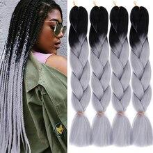 MODERN QUEEN 24 inch Long Ombre Braiding Hair Jumbo Braid Cr