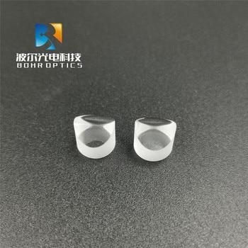 Lente de vidrio de línea de prisma óptico láser de N-BK7 D9mm lente de vidrio de línea de palabras de 30 grados