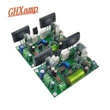 """Placa amplificadora discreta ghxamp, hifi clássico, placa de áudio amp 35v/us por """", design de potência e manual"""" 2sc2922 dupla 24v dual 50v 1 pares"""
