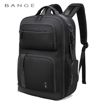 BANGE Men Business Backpack High capacity Waterproof Travel Backpack 15.6'Laptop Backpack School Bag Office Men Backpack