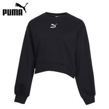 Oryginalny nowy nabytek PUMA Classics bufiasty rękaw załogi kobiet swetry koszulki odzież sportowa tanie tanio CN (pochodzenie) WOMEN Dobrze pasuje do rozmiaru wybierz swój normalny rozmiar oddychająca