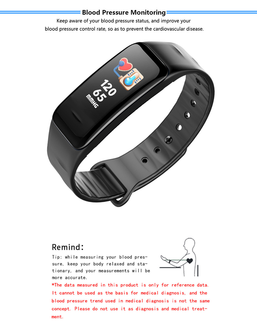 P2 Smart bracelet 05
