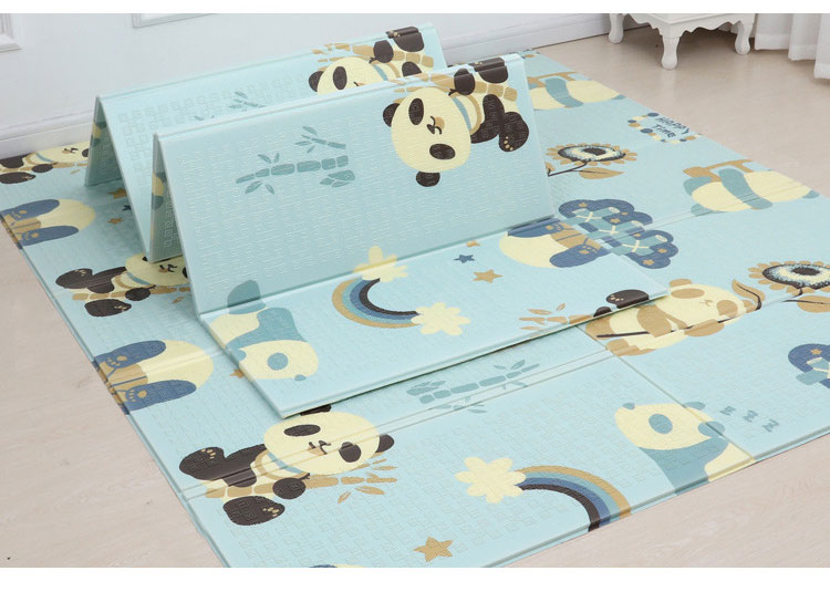 H5c3a362f802a48acb425ce71b806043cF 200*180cm Foldable Cartoon Baby Play Mat Xpe Puzzle Children's Mat Baby Climbing Pad Kids Rug Baby Games Mats