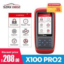 Xtool X100 PRO/PRO2 programmatore chiave automatica codice di ripristino ECU leggi strumenti Auto OBD2 strumento diagnostico Auto aggiornamento gratuito multilingue