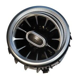 Image 2 - Odpowietrznik turbiny LED kratka nawiewu powietrza dekoracja oświetlenie otoczenia lampa dla benz A /C /E/ GLC/ CLA klasa W205 W213 X253 W117