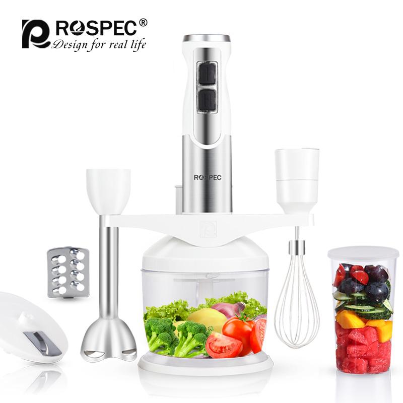 ROSPEC 10 In 1 Multi function Food Stand Mixer Handheld Blender Electric  Vegetable Meat Grinder Fruit Chopper Whisk Egg Beater