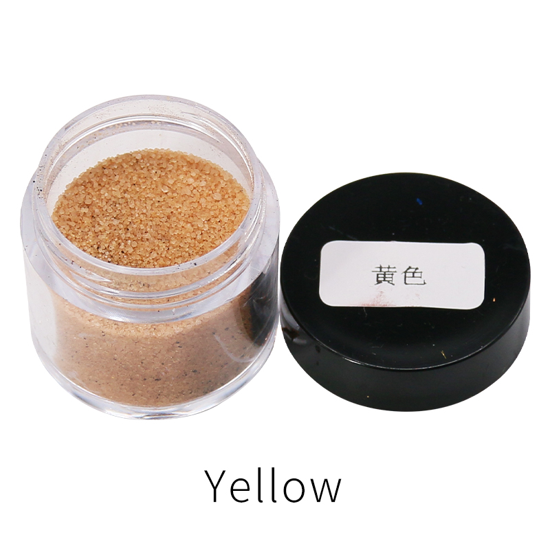 Yellow Color 10g/bottle Fast-dying Acid Dye Powder For Dying Clothes Soft Feather Bamboo Eggs Acrylic Paint Pigment