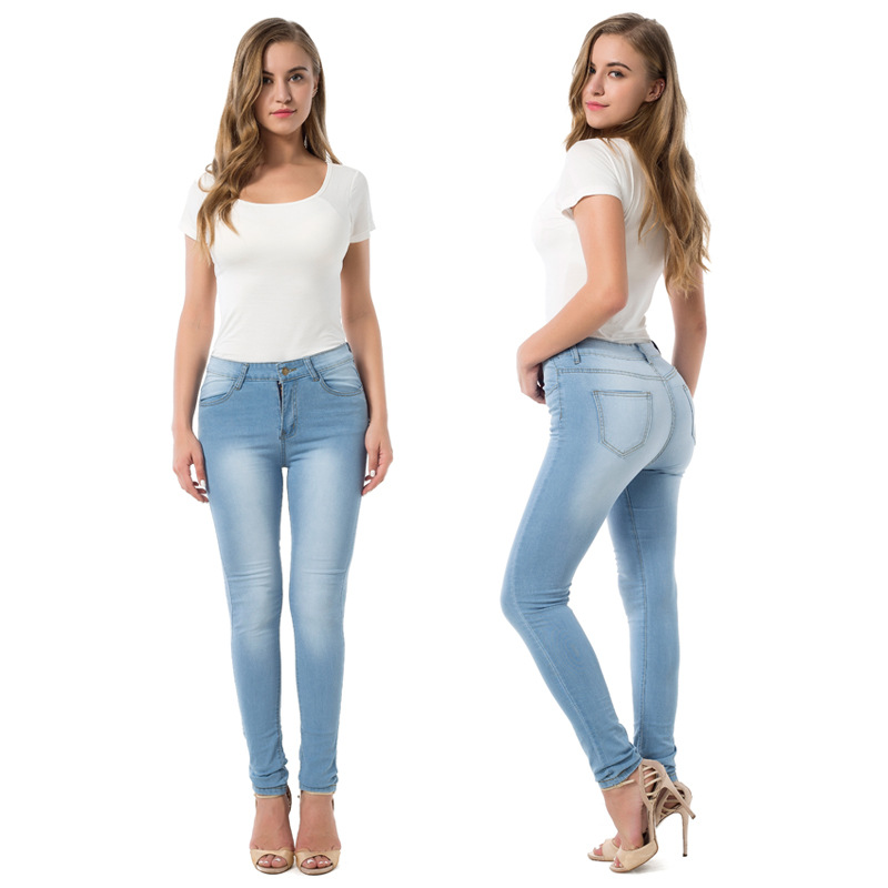 Hot WOMEN'S Pants European And American-Style South America Autumn Pants Sexy Cowboy Pants Support