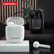 Lenovo XT89 TWS Kopfhörer Bluetooth 5,0 Drahtlose Kopfhörer IPX5 Wasserdichte Touch Headset HiFi Noise Cancelling Earbuds mit Mic