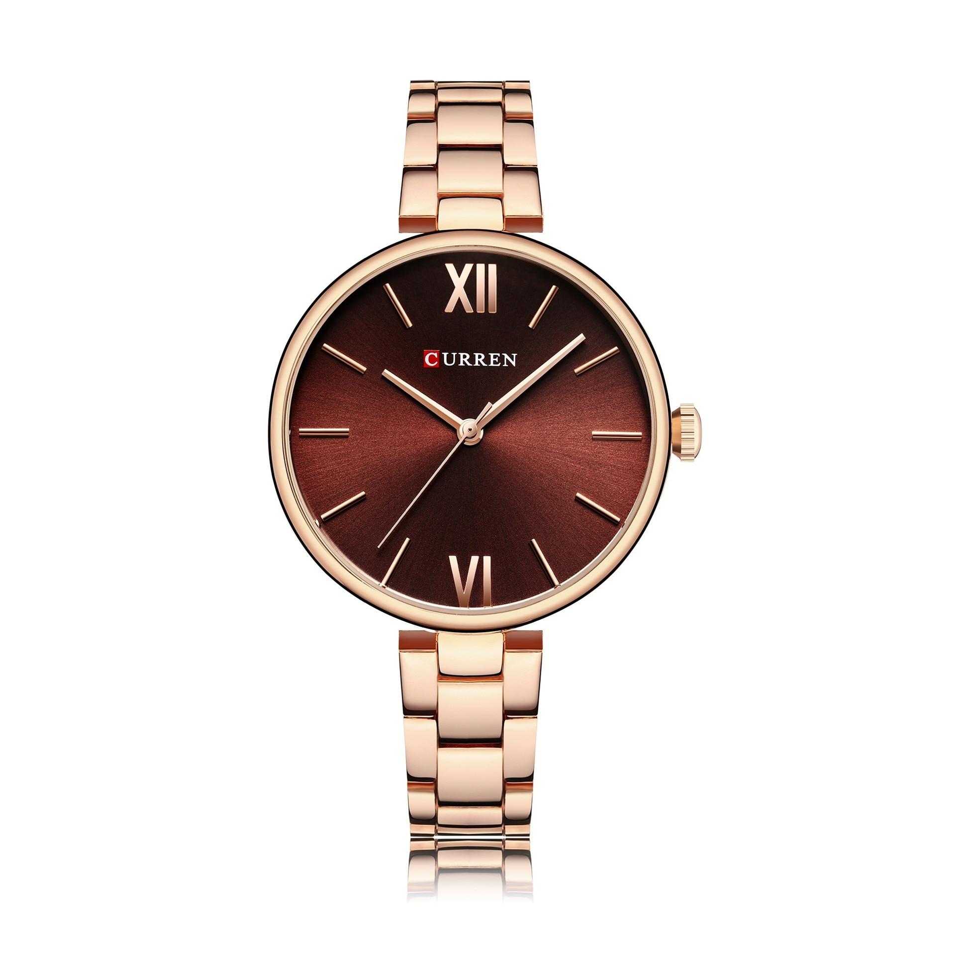 Nouvelle montre pour femme à la mode en acier ceinture montre pour femme étanche quartz montre de mode montre pour femme