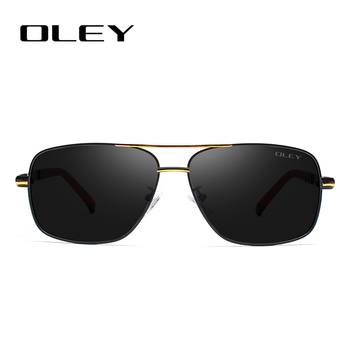 OLEY Brand Polarized Sunglasses Men New Fashion Eyes Protect Sun Glasses With Accessories Unisex driving goggles oculos de sol 2