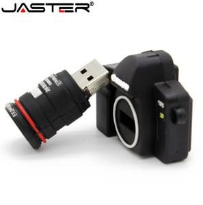 Image 3 - JASTER חם SLR מצלמה USB דיסק און קי מצלמה Pendrive cartoon usb מקל מיני עט כונן 64gb 32gb 16gb זיכרון מקל משלוח חינם