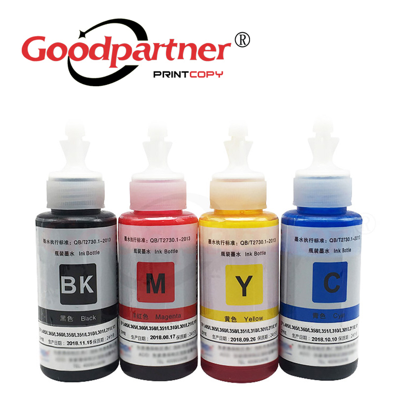 1PC X L100 L110 L120 L132 L200 L210 L222 L300 L312 L355 L350 L362 L365 L366 L550 L555 L565 L566 Refill Ink Kit For Epson 664