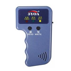 Image 5 - Czytnik kart RFID powielacz 125KHz EM4100 kopiarka pisarz programator wideo T5577 Rewritable ID piloty EM4305 tagi karty
