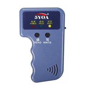 Image 5 - RFID Duplicator Card Reader  125KHz EM4100 Copier Writer Video Programmer T5577 Rewritable ID Keyfobs EM4305 Tags Card