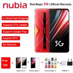 Globale Versione ZTE Nubia Magia Rossa 5G Del Telefono Mobile 6.65 8/12GB di RAM 128/256GB di ROM Snapdragon 865 Android 10 NFC di Gioco Del Telefono