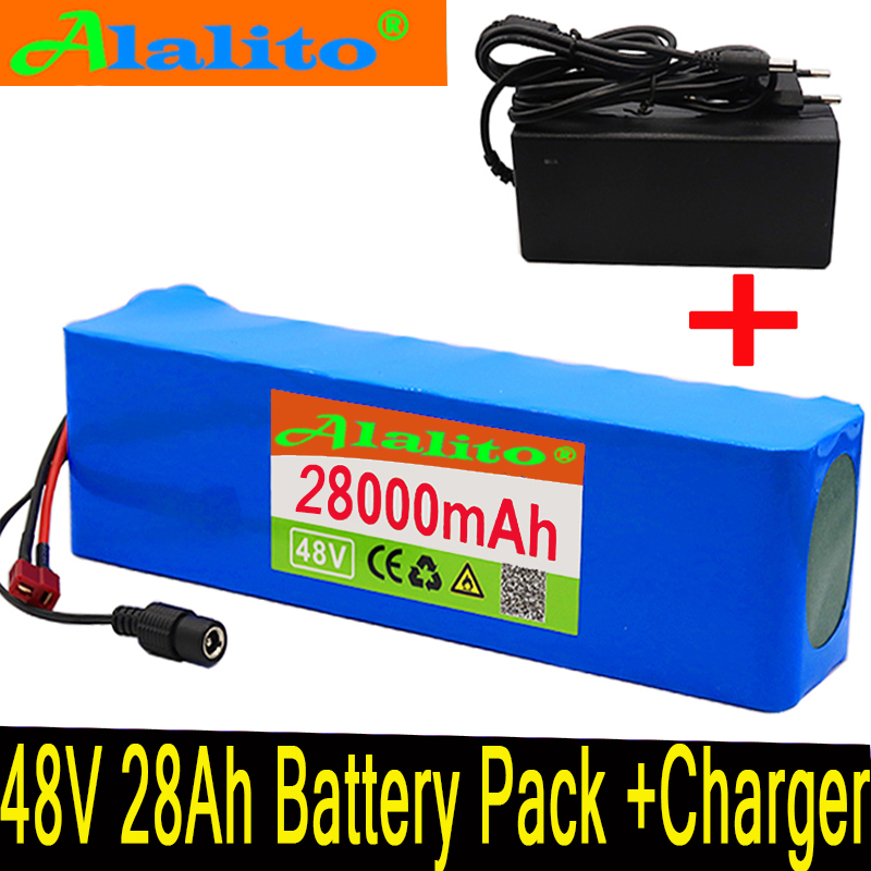 Charger Ion Electric Lithium 48v 28ah Ebike Battery 1000w For Pack High Power