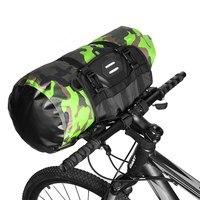 NEWBOLER Fahrrad Tasche Große Kapazität Wasserdichte Vorne Rohr Radfahren Tasche MTB Lenker Tasche Front Rahmen Stamm Pannier Fahrrad Zubehör