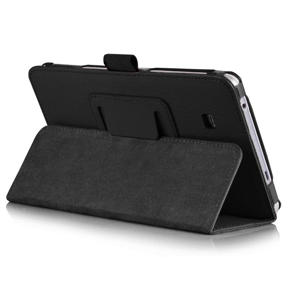 Чехол-подставка для Samsung Galaxy Tab A 6 A6 7,0 2016 T280 SM-T280 T280N T285 SM-T281 откидной Чехол из искусственной кожи для планшета-4