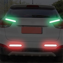 Car Reflective Stickers Car Door Wheel Eyebrow Sticker Decal Warning Tape Safety Mark Reflective Strips good